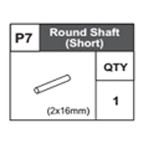 07-68400P7 Round Shaft (Short)