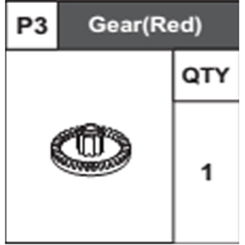 03-68300P3 Gear (Red)