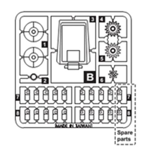 13-68300PPB Plastic Part B