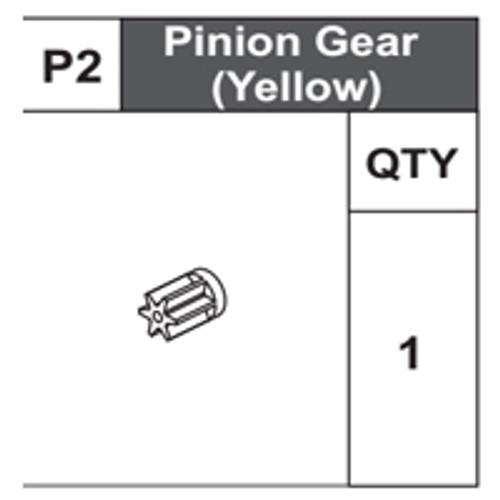 02-68200P2 Pinion Gear (Yellow)