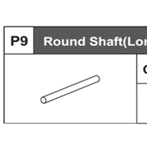09-68200P9 Round Shaft (Long)