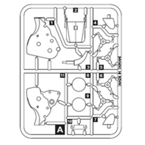 10-68200PPA Plastic Part A