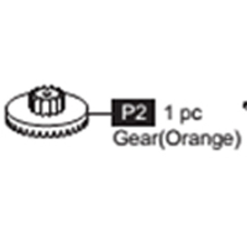 02-68100P2 Gear (Orange)