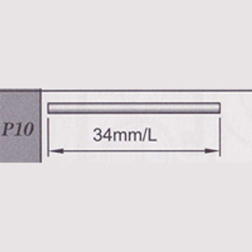 10-67900P10 Round Shaft (34mm)