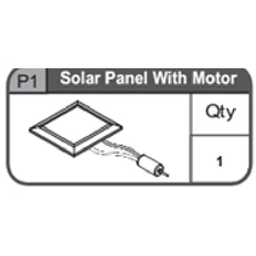 01-67400P1  Solar Panel With Motor