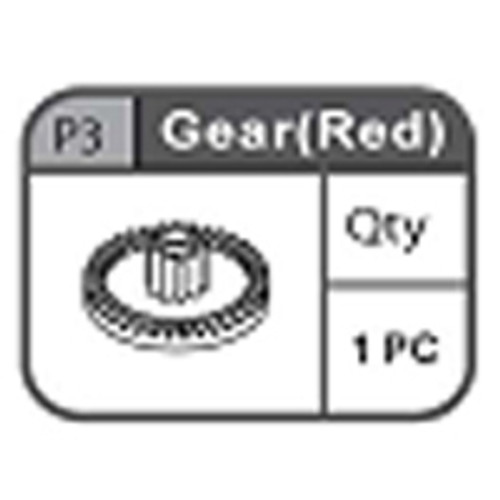 03-67200P3 Gear (Red)