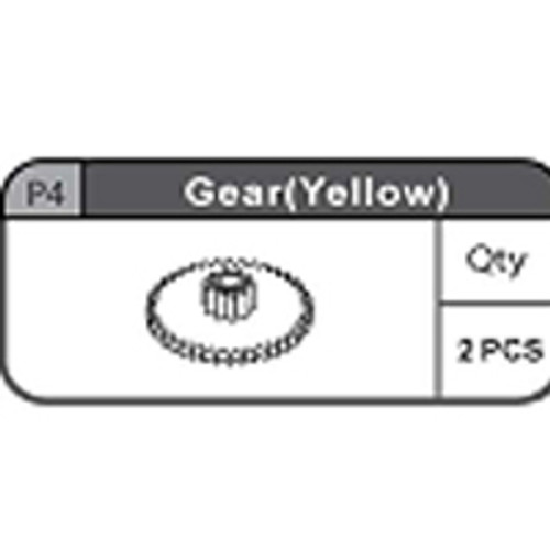 04-67200P4 Gear (Yellow)
