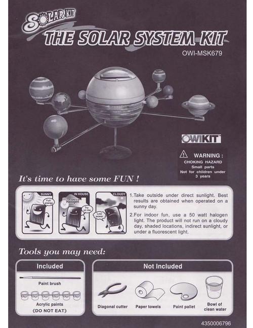 The Solar System Manual