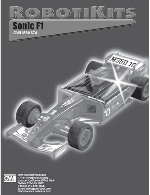 Sonic F1 Manual