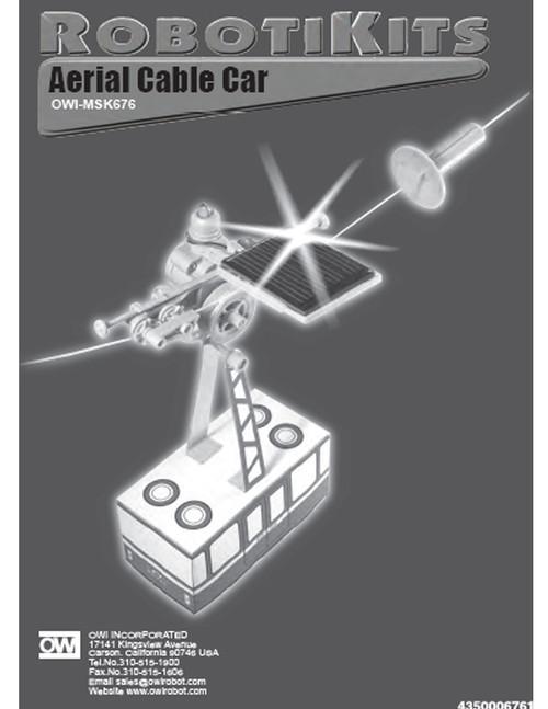Aerial Cable Car Manual