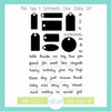 Mini Tags & Sentiments Clear Stamp Set