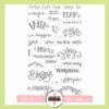 Creative Worship: Perfect Faith Clear Stamp Set