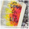 Creative Worship: Outline Alpha Clear Stamp Set