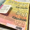 PREORDER Creative Worship: Outline Alpha Clear Stamp Set