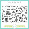 Birthday Pals Clear Stamp Set