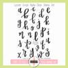 Creative Worship: Lynzee Script Alpha Clear Stamp Set