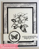 Floral Greetings Clear Stamp Set