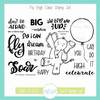 Fly High Clear Stamp Set