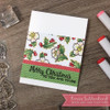 Christmas Botanicals Clear Stamp Set