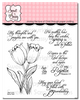 Spring Tulips Clear Stamp Set