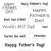 Father's Day Sentiments Digital Stamp