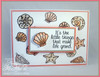 Flourish Seashells Clear Stamp Set