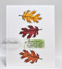 Autumn Leaves Clear Stamp Set