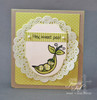 Punny Fruits & Veggies Clear Stamp Set