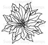 Poinsettia Digital Stamp