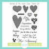 Bottom of My Heart Clear Stamp Set