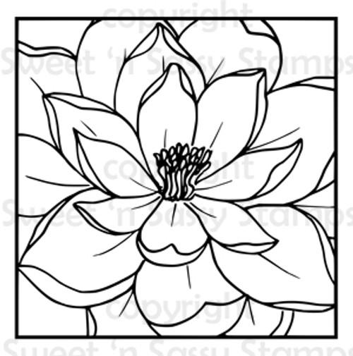 Magnolia Block Digital Stamp