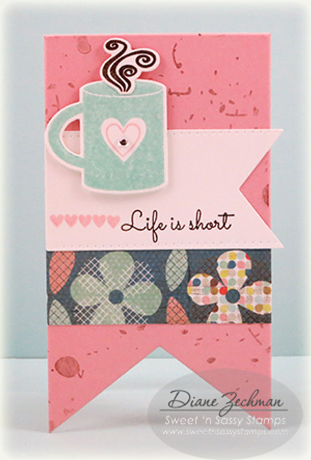 Believe: Sweet 'n Sassy Stamps March Blog Hop Day 4: Pick me up