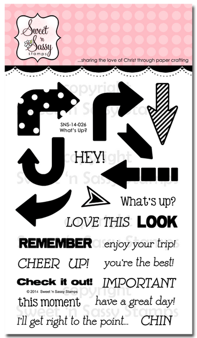 What's Up? Clear Stamp Set