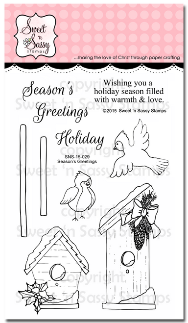 Season's Greetings Clear Stamp Set
