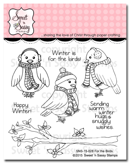 For the Birds Clear Stamp Set