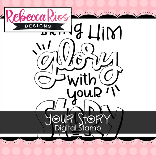 Your Story Digital Stamp