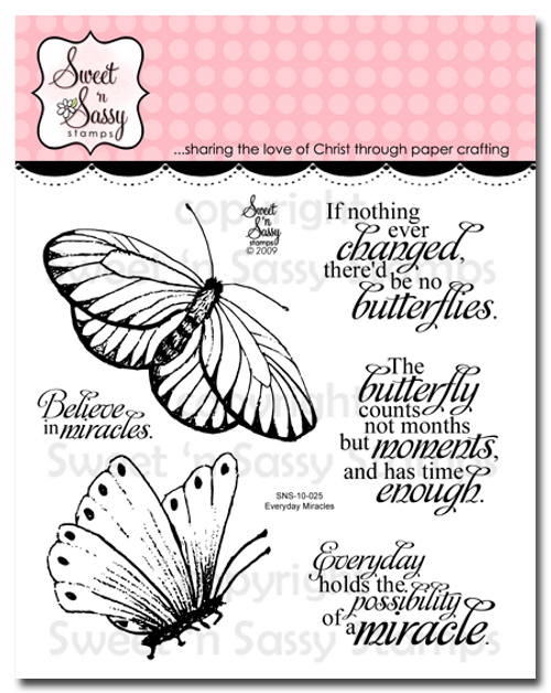 Everyday Miracles Clear Stamp Set