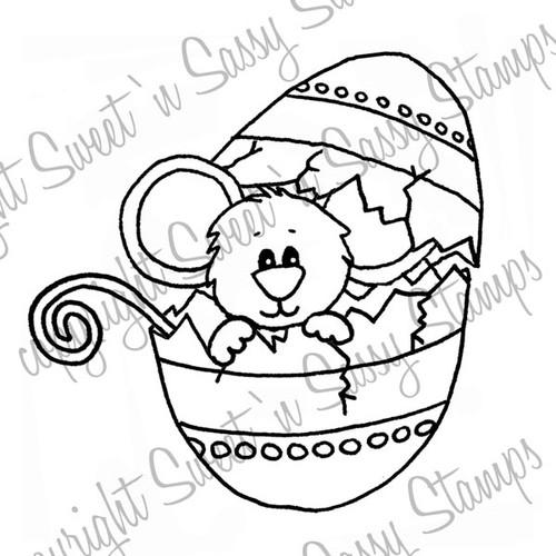 Egg-cited Cocoa Digital Stamp