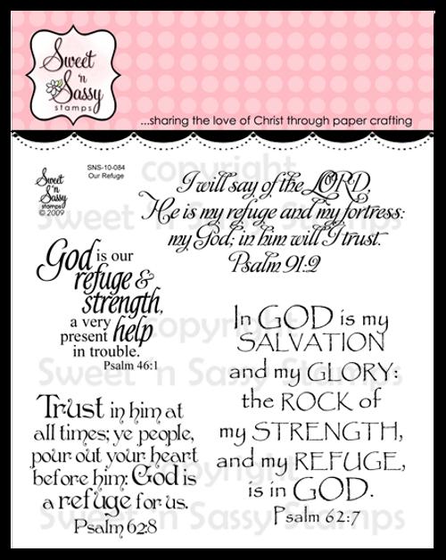 Our Refuge Clear Stamp Set