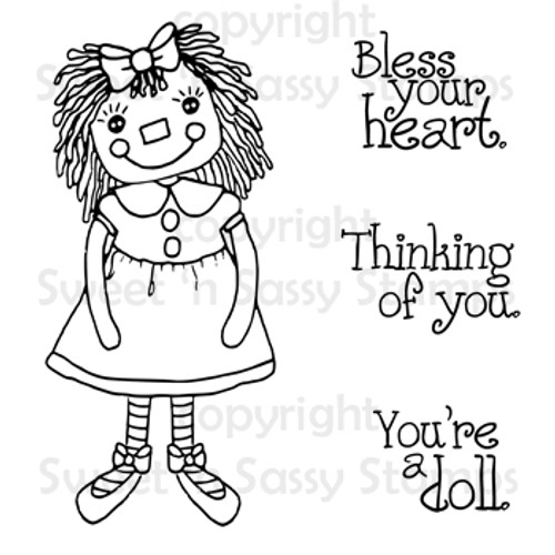 You're a Doll Digital Stamp