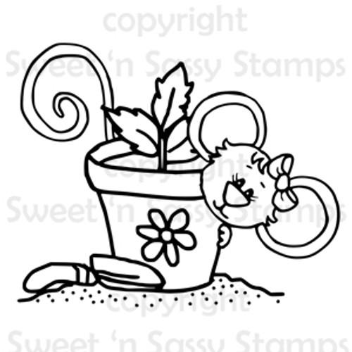 Gardening Cookie Digital Stamp