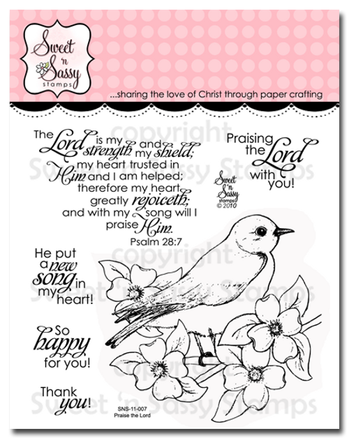 Praise the Lord Clear Stamp Set