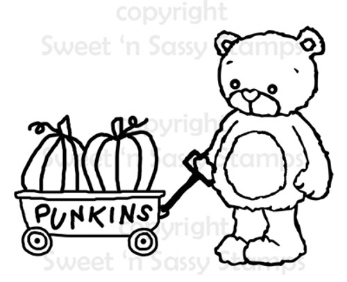 Rhubarb's Punkins Digital Stamp