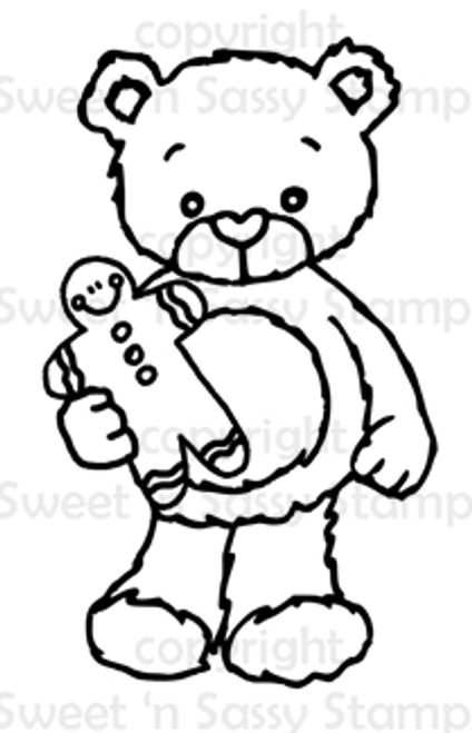 Rhubarb's Gingerbread Man Digital Stamp