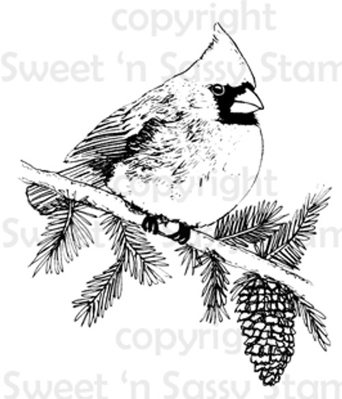 Cardinal Digital Stamp