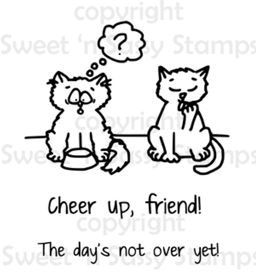 Cheer Up Digital Stamp