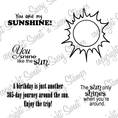 Sunshine Digital Stamp