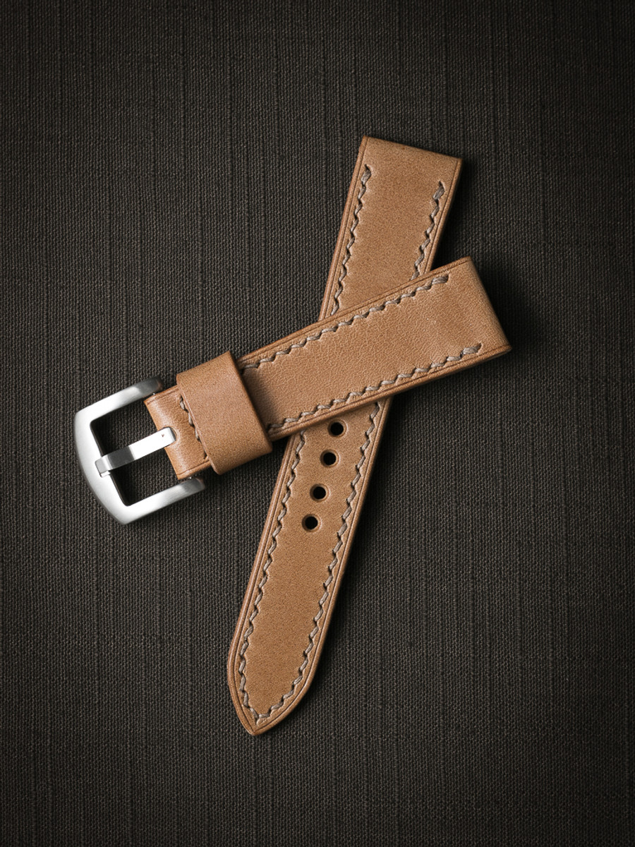 """Durand"" Natural Leather Watch Strap"