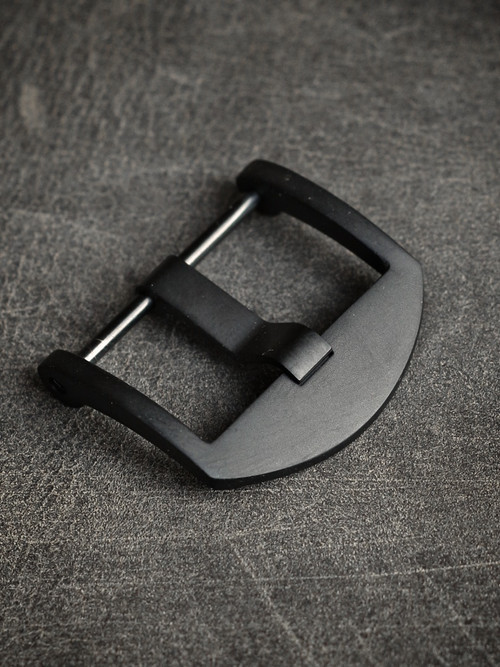 Matte Black PVD Screw-In Thumbnail Watch Buckle