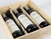 Triple Bottle Wine Keepsake Box